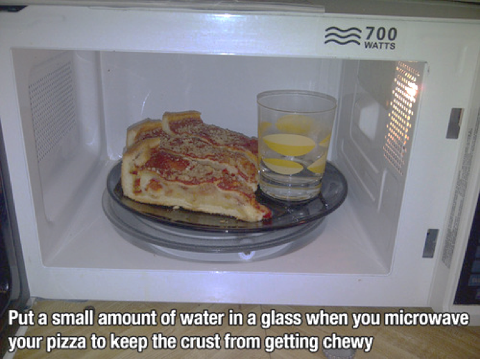 Life hack your pizza