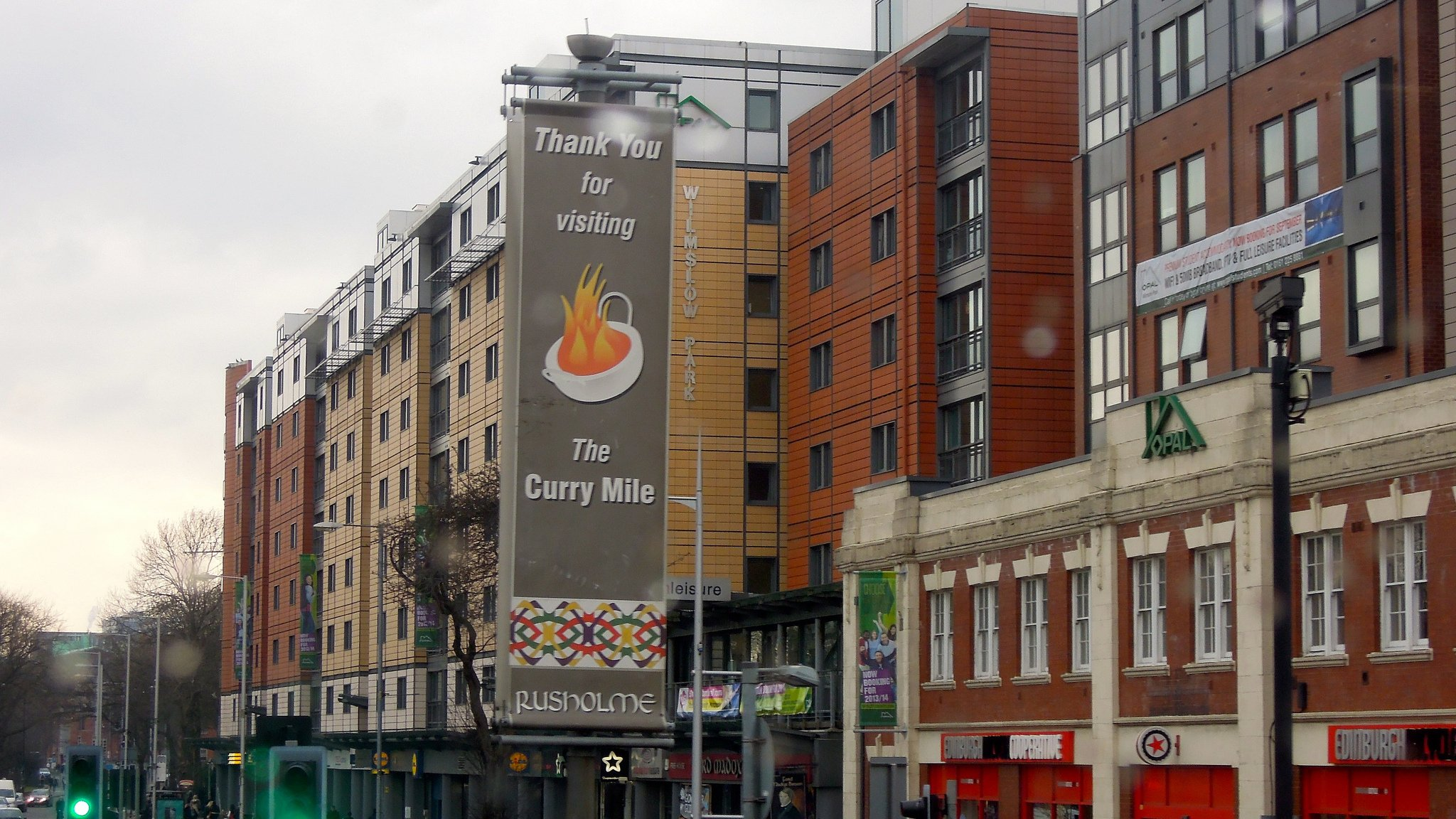 The Curry Mile