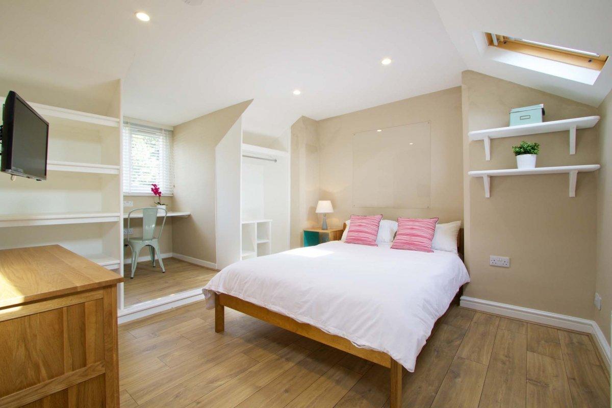 Top-floor room