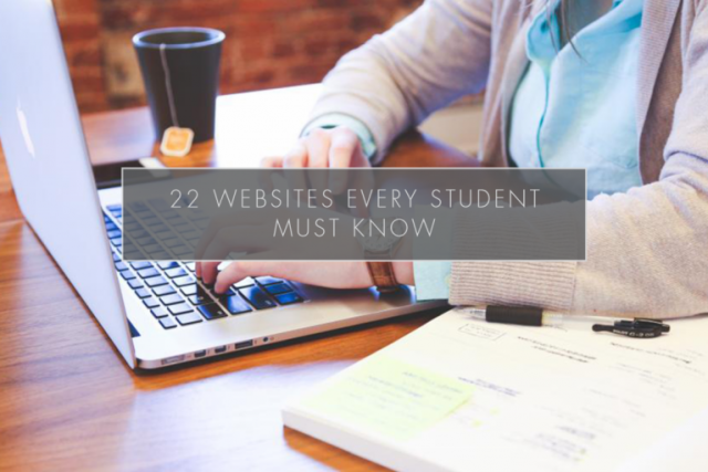 22 Websites Every Student Must Know