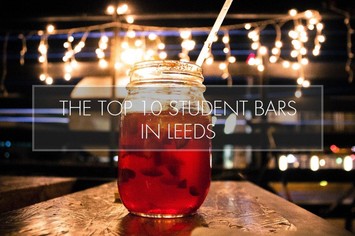 Top 10 Student Bars in Leeds