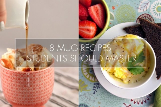 8 Mug Recipes Students Should Master