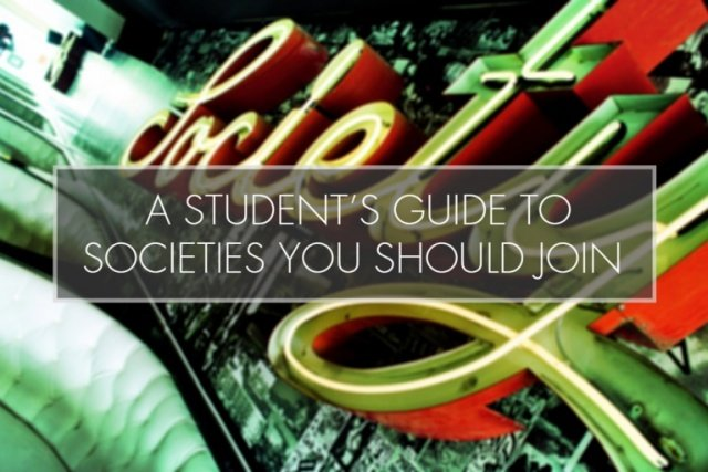 A Student's Guide to the Societies You Should Join at University