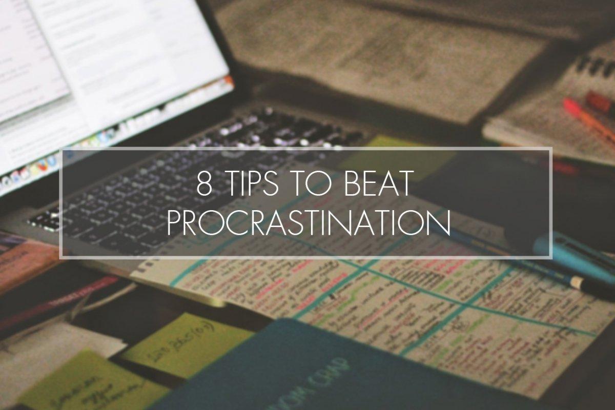 8 Ways to Stop Procrastinating and Start Studying