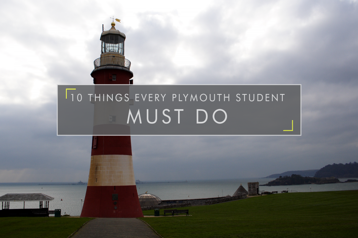 10 Things Every Plymouth Student Must Do
