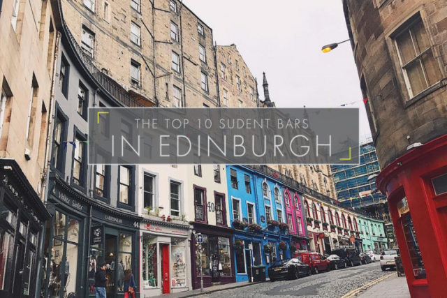 The Top 10 Student Bars In Edinburgh