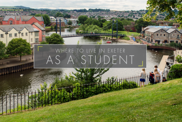 Where to Live in Exeter as a Student