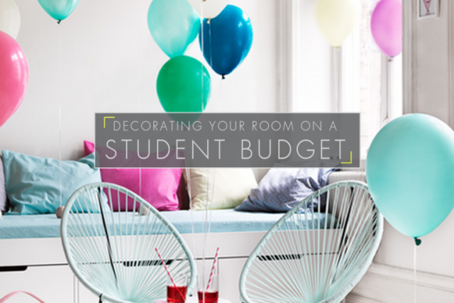 Decorating Your Room on a Student Budget