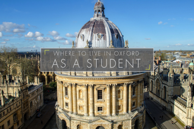 Where to Live in Oxford as a Student