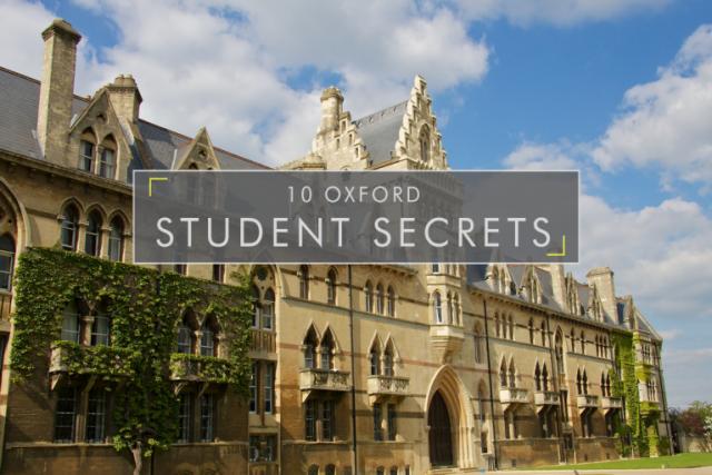 10 Oxford Student Secrets