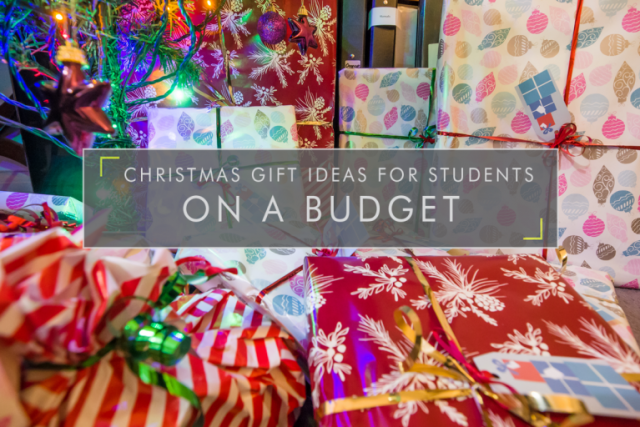 Christmas Gift Ideas for Students on a Budget