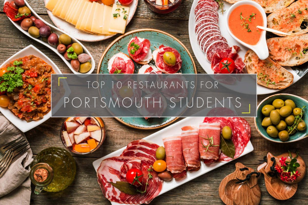 Top 10 Restaurants for Portsmouth Students