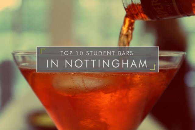 The Top 10 Student Bars in Nottingham