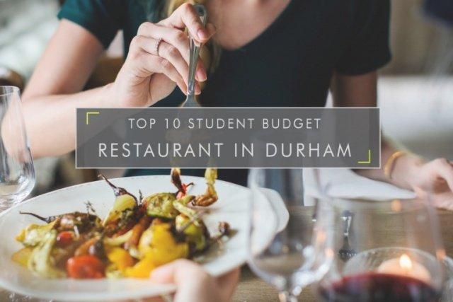 student budget restaurants in Durham