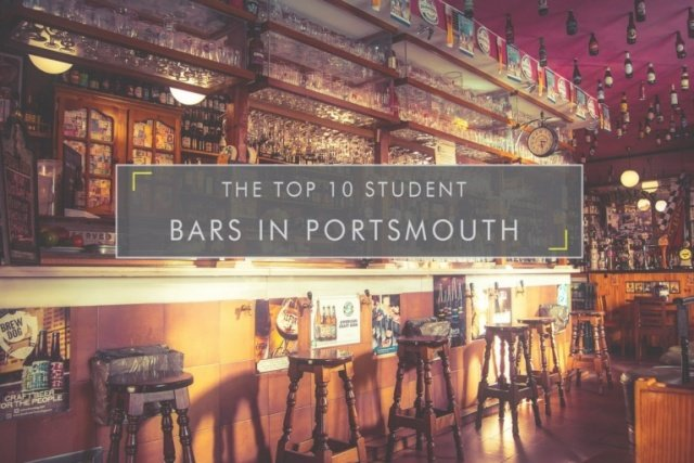 Top 10 Student Bars in Portsmouth