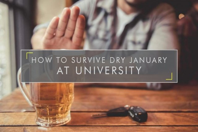 How to Survive Dry January at University