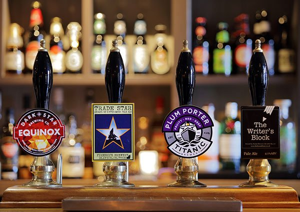 Beers that the Broad Chase offers