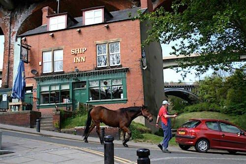 Outside of The Ship Inn