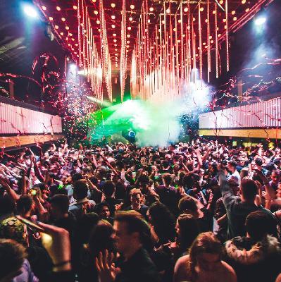 Interior of nightclub