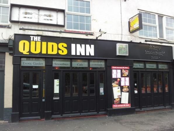 Outside of The Quids Inn