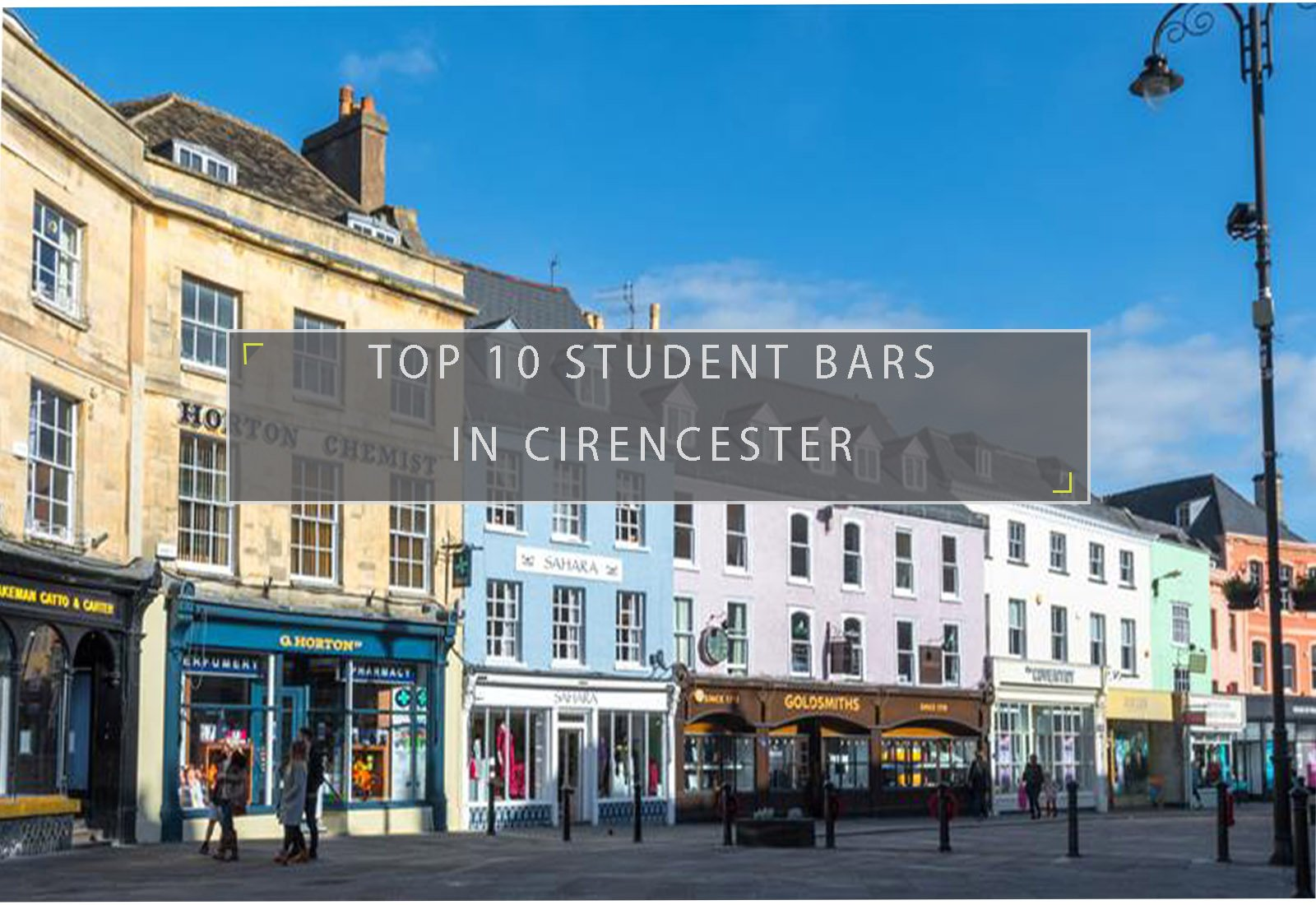 Student bars in Cirencester