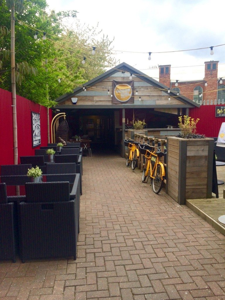 Outside view of the Dabbawal Jesmond