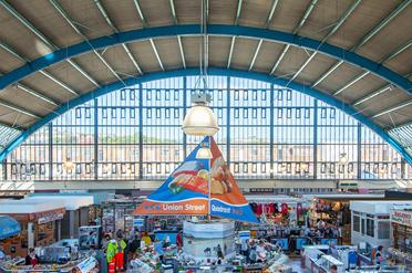 Shopping in Swansea Market