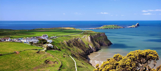 Check out the Gower Peninsula