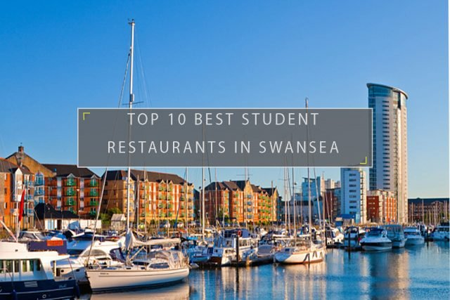 Student restaurants in Swansea
