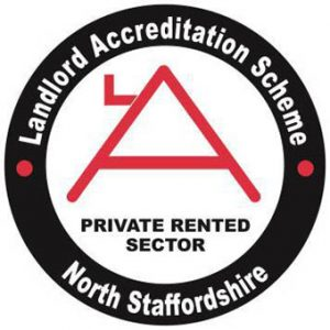 north staffordshire landlord accreditation scheme logo