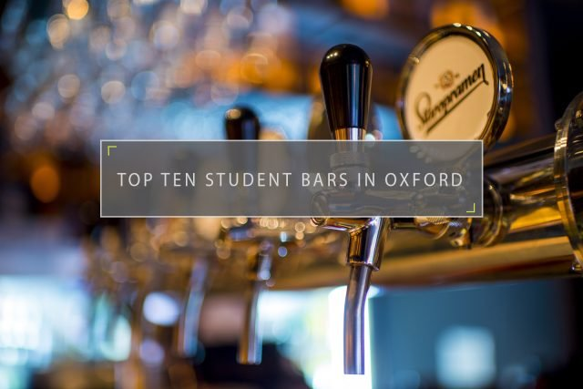 Top Ten Student Bars in Oxford