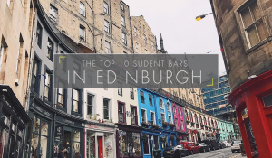 The Top 10 Student Bars In Edinburgh