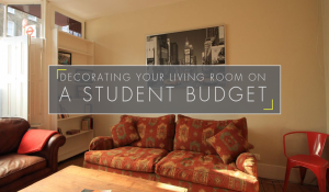 Decorating Your Living Room on a Student Budget